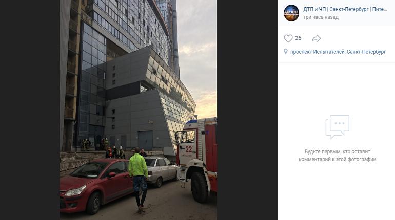 Пожар в Приморском районе локализован