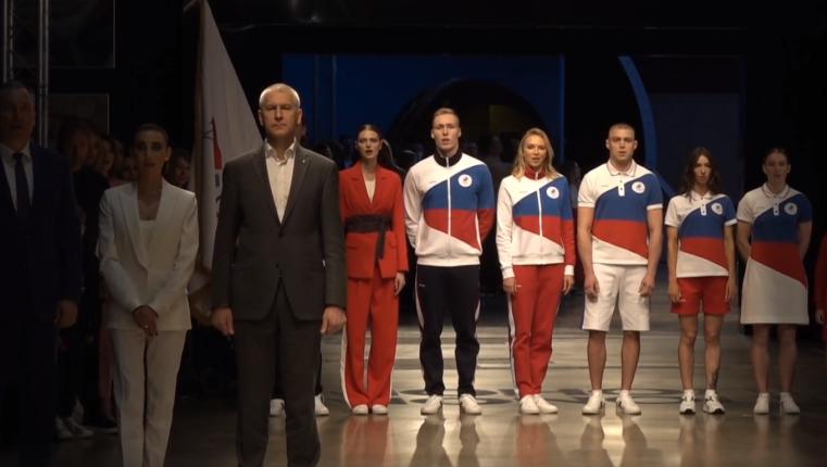 Представлена форма для отстраненной сборной России на Олимпиаде в Токио