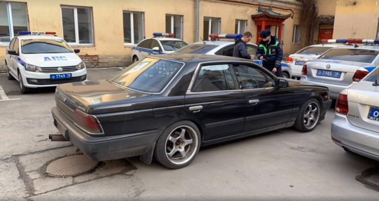 В Петербурге поймали любителя уличных гонок, он извинился, но ему грозит статья
