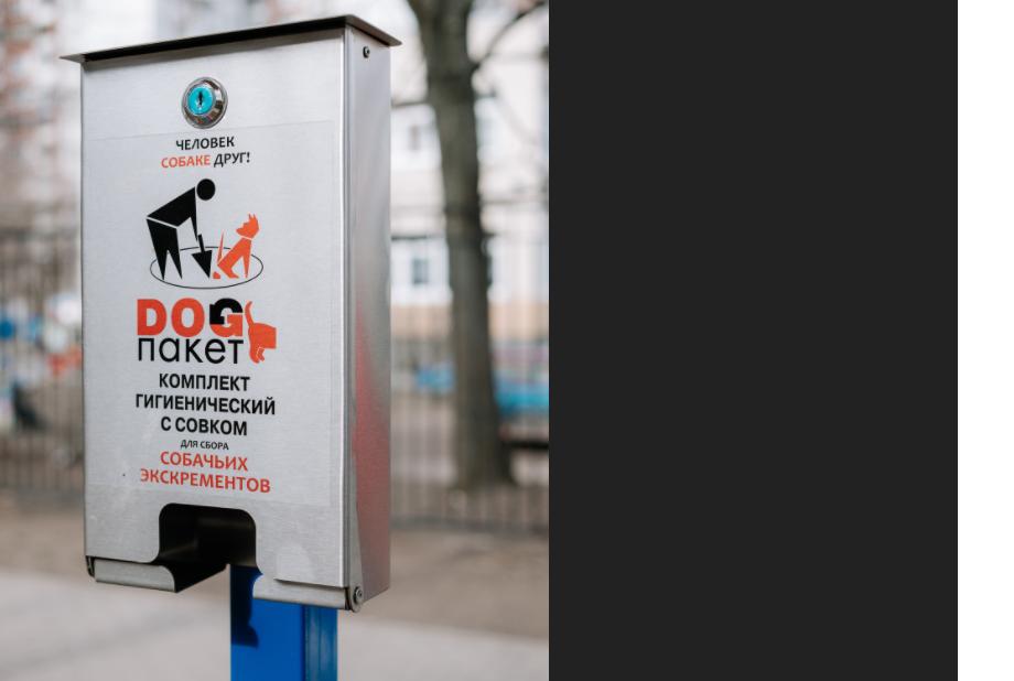 На Васильевском поддержали идею Мойки78 по установке боксов для собачьих фекалий