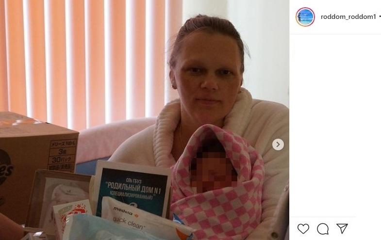 Петербурженка стала матерью в 11-й раз