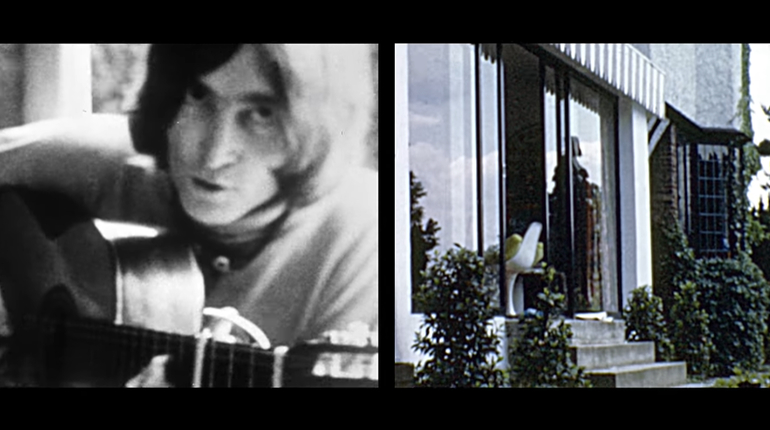 «Посмотри на меня»: в сеть выложили редкие кадры с Джоном Ленноном