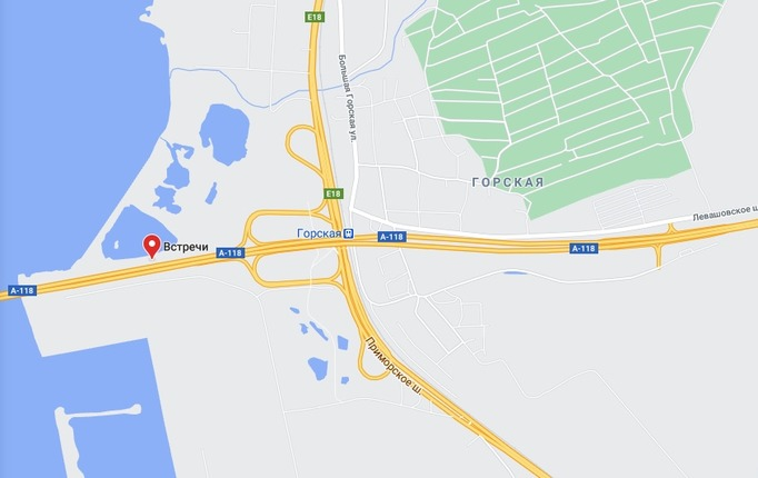 В Петербурге на две недели заблокируют движение на развязке КАД с Приморским шоссе