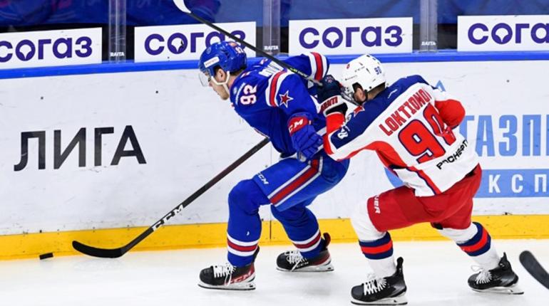 СКА в Москве обыграл ЦСКА и сократил отставание в серии