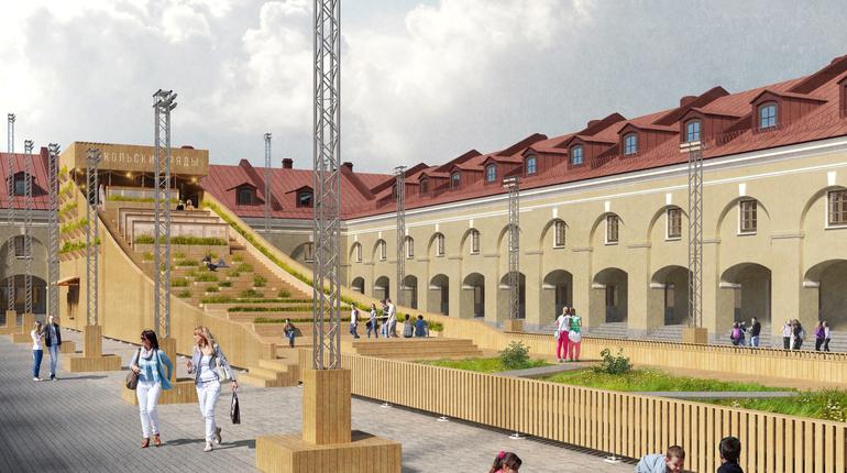 В Петербурге открылись обновленные «Никольские ряды»