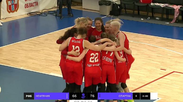 Женский баскетбольный «Спартак» впервые победил в четвертьфинале Суперлиги-1