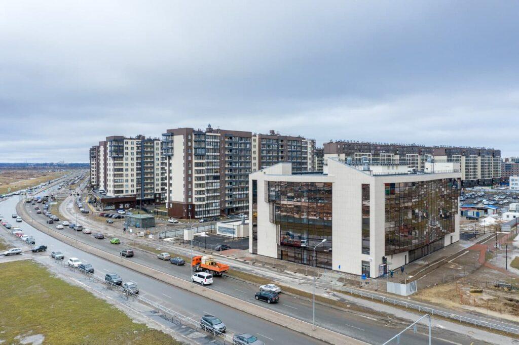 В ЖК «Солнечный город» Setl Group построил торговый центр