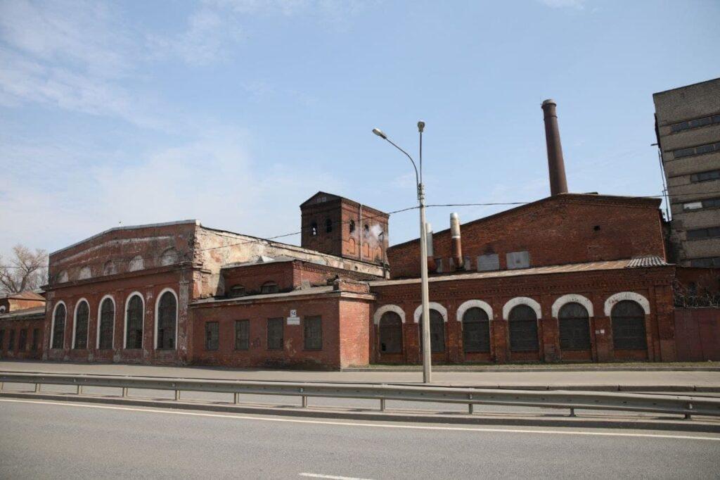 В КГИОП рассказали, что осталось после пожара от здания Невской мануфактуры
