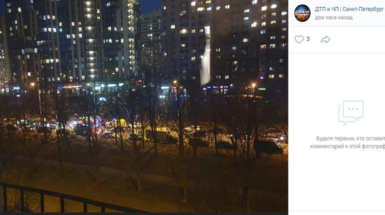Пожар в Московском районе локализован
