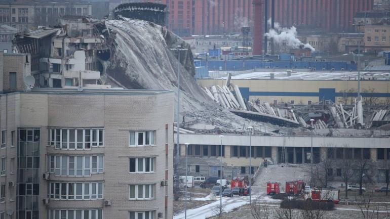 Суд отказал в прекращении уголовного дела об обрушении СКК «Петербургский»