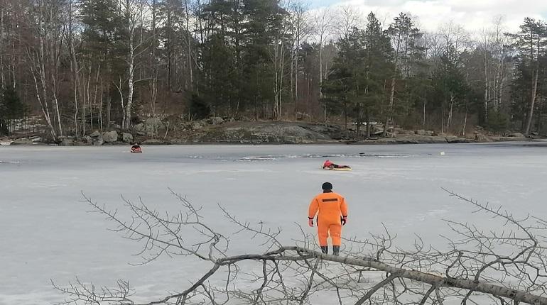 В Ленобласти мужчина провалился под лед Вуоксы и погиб