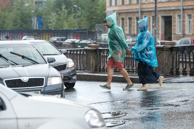 В Петербурге во вторник ожидается дождь и +20 градусов, 125 лет назад было +31