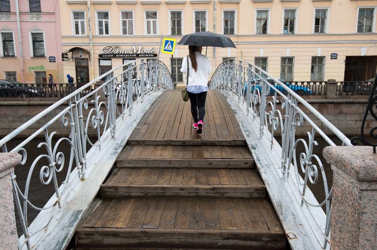 Синоптик Михаил Леус: Петербург находится под влиянием североатлантического циклона, в городе возможны грозы