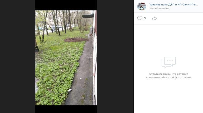 Горожане сообщили, что в Невском районе что-то взорвалось