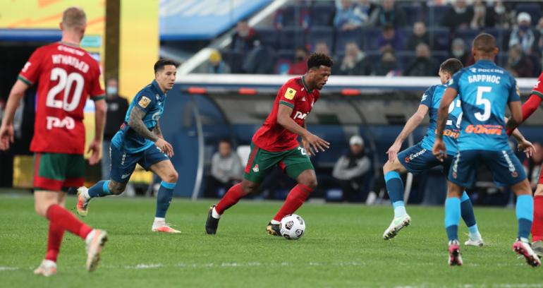 «Локомотив» пожаловался на отношение к болельщикам на матче с «Зенитом»