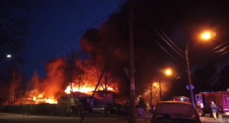 Погиб владелец автосервиса, сгоревшего в Зеленогорске