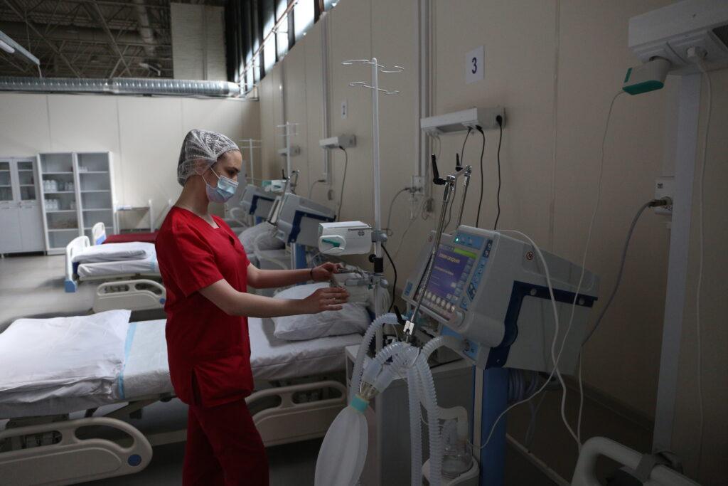 С начала сентября в «Заре» и «Балтийце» растет число пациентов