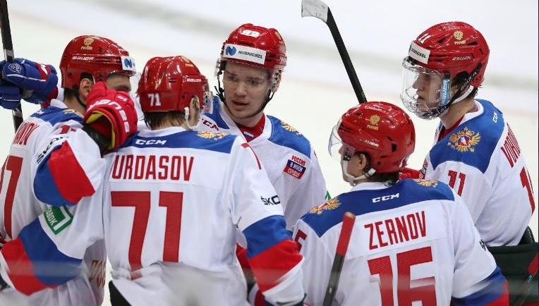Сборная России выиграла у Швеции в первом матче Чешских игр