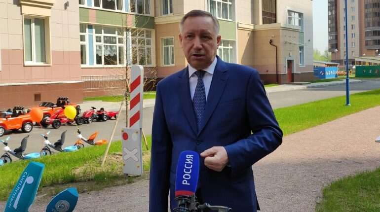 Беглов посетил открытие детсада в Приморском районе