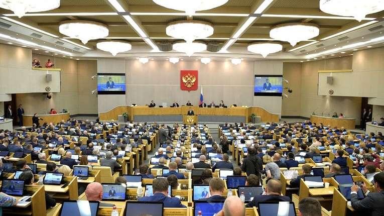 Госдуму возмутил доклад Европарламента об отношениях с Россией