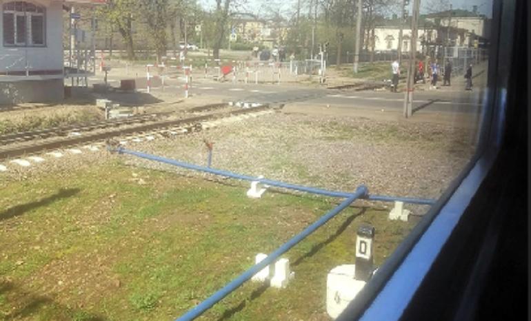 Проводится проверка травмирования женщины на станции Царское село