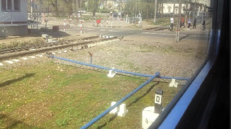 В Петербурге электричка сбила женщину