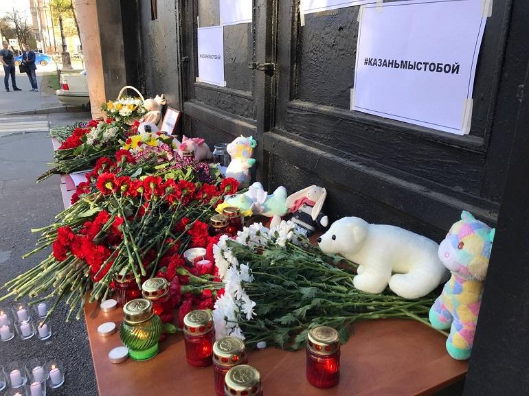 Казанскую школу в момент нападения охранял один вахтер
