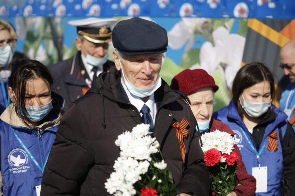 Ветераны Ленобласти стали гостями парада Победы в Петербурге в первый раз