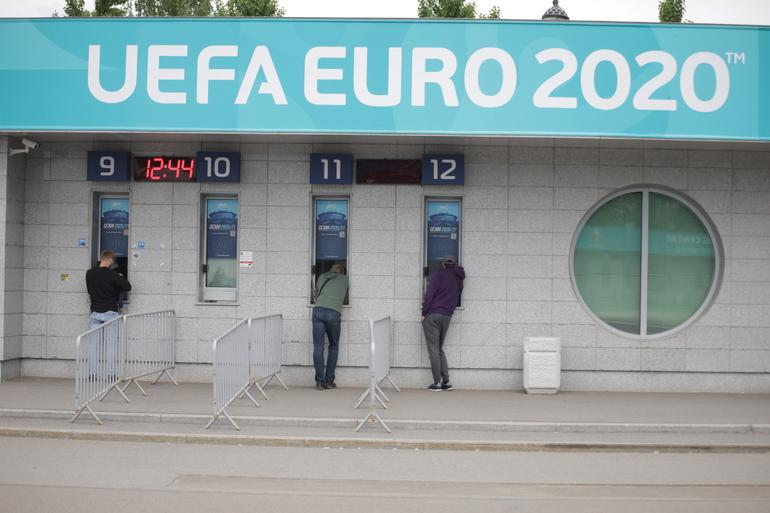 На украшение Петербурга для Евро-2020 выделили 34 млн рублей и сэкономили 7 млн