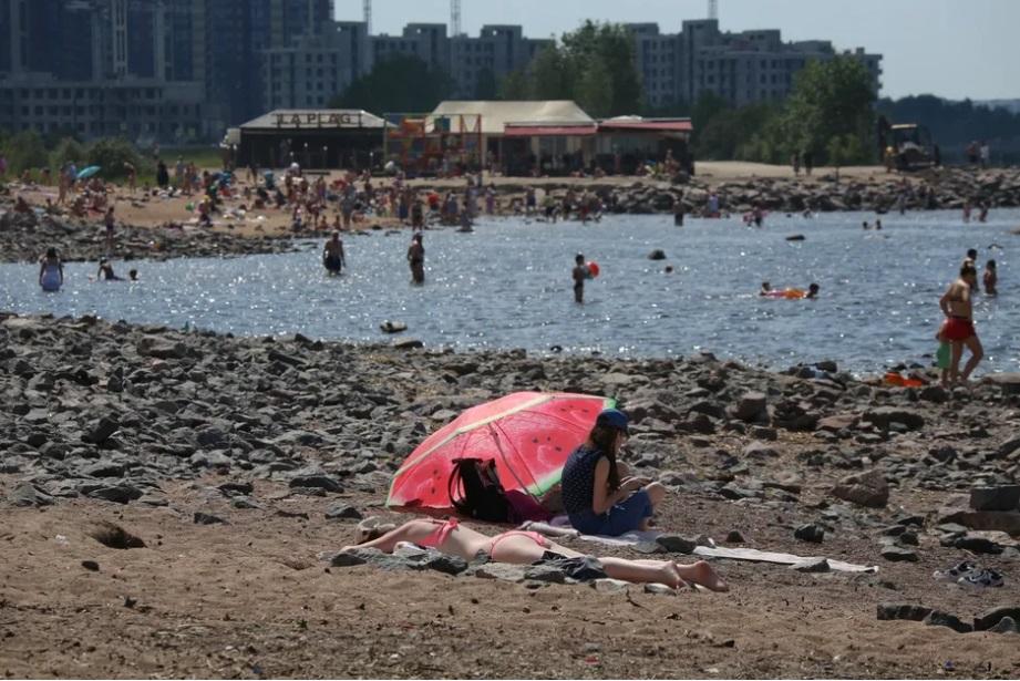 Температура в Петербурге может достигнуть отметки в +42 градуса