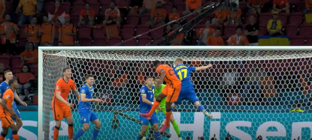 Украина уступила Нидерландам в чемпионате по футболу