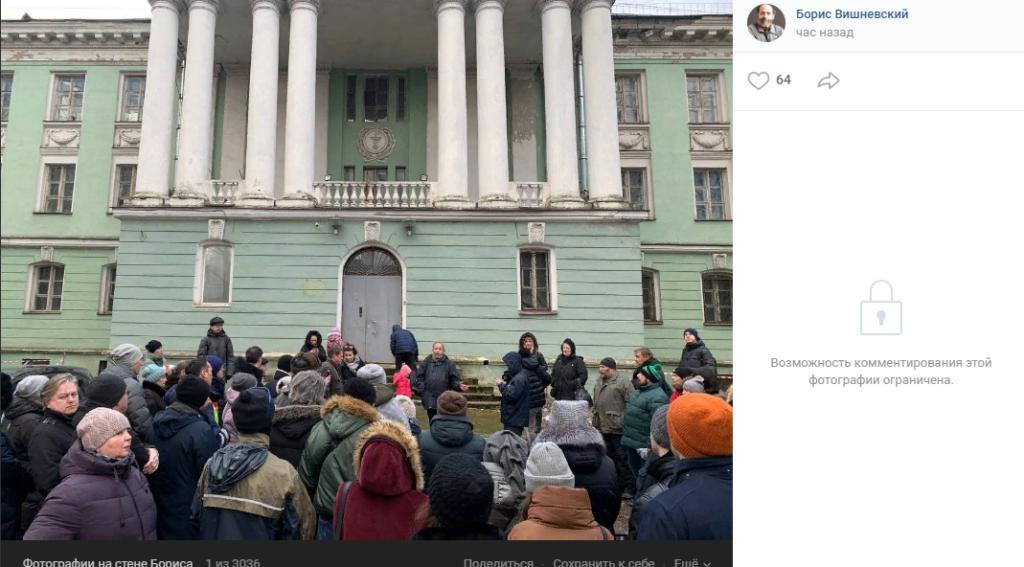 Прокурор Петербурга засомневался в ценности бывшей Медсанчасти на Одоевского