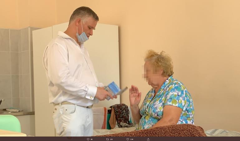 Пациентка пожаловалась на коммивояжера в коронавирусной Мариинской больнице