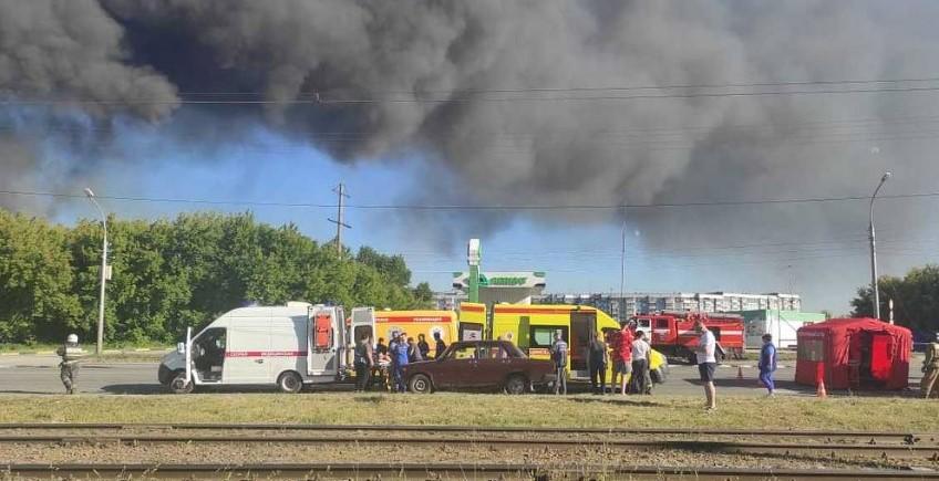 Врач рассказал о состоянии пострадавших после взрыва в Новосибирске
