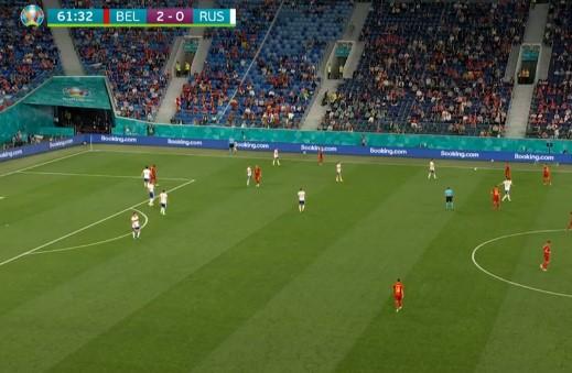 Россия проигрывает Бельгии 0:2 после первого тайма