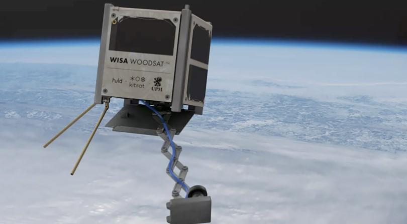 В Финляндии запустят в космос первый деревянный спутник «WISA Woodsat»