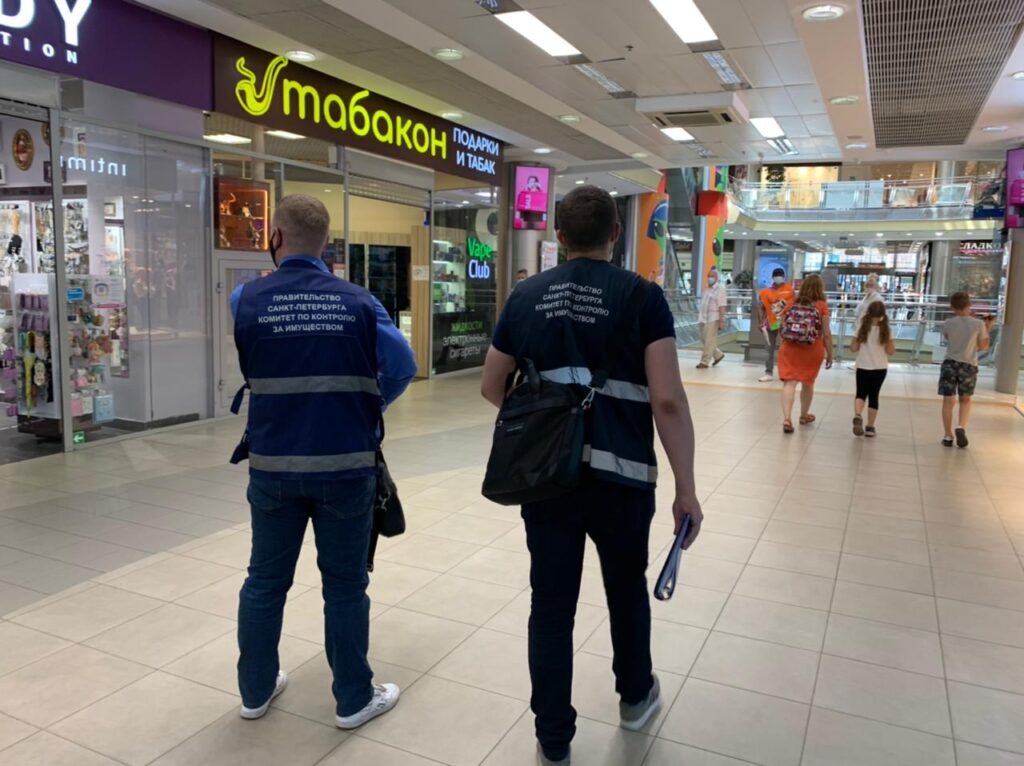 За 10 дней в Петербурге проверили 397 объектов на соблюдение антиковидных требований