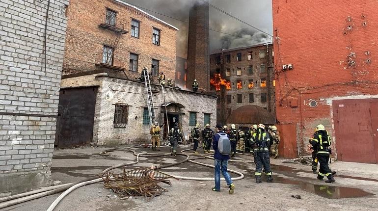 В Петербурге ищут подрядчиков для восстановления сгоревшей «Невской мануфактуры»