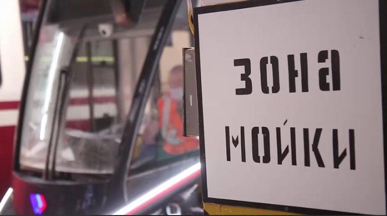 Перед Евро-2020 в Петербурге проверили мойки общественного транспорта