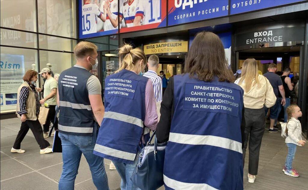 Комитет по контролю за имуществом провел рейд в 4 районах Петербурга