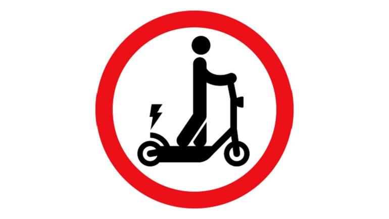 В Петербурге появился проект дорожных знаков для электросамокатов