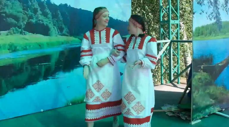 В селе Винницы с применением онлайн-технологий проходит вепсский праздник «Древо жизни»