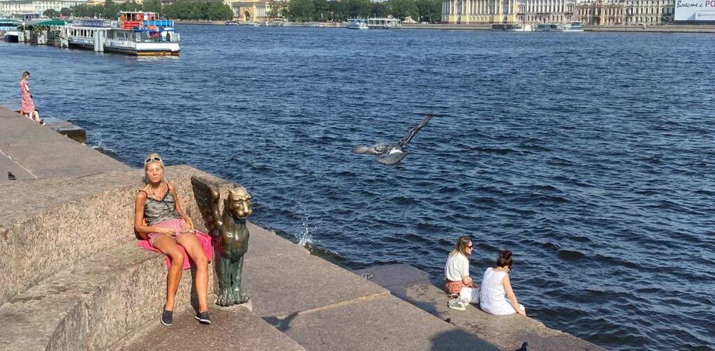 Жара останется в Петербурге до середины июля