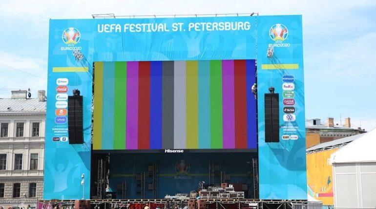 В петербургских фан-зонах Евро-2020 запретят продавать еду