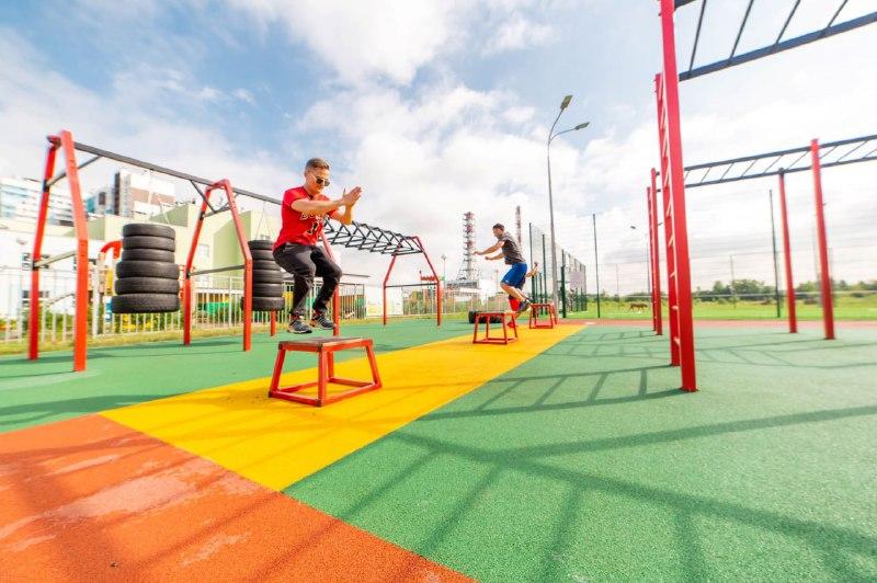 Setl Group разработал концепцию спортплощадок с новыми эксклюзивными тренажерами