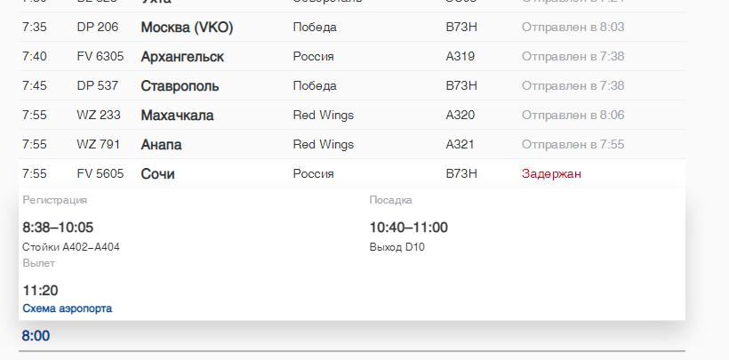 В Пулково в субботу задерживаются 12 авиарейсов