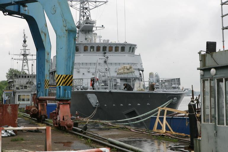 В Петербурге строят пассажирское судно «Виктор Астафьев»