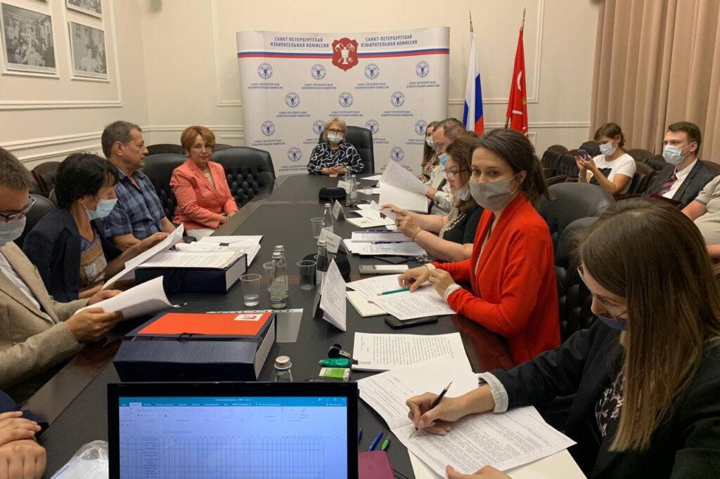Партия Роста представила в Санкт-Петербургскую избирательную комиссию документы для заверения списка кандидатов