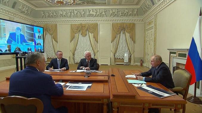 Беглов попросил у Путина 342 млрд рублей для ускорения строительства метро Петербурга