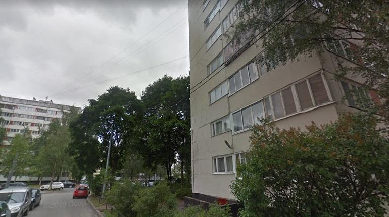 В Приморском районе ночью пожарные тушили «Ладу»